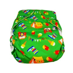 Real Easy Sized Nappy - Festival (4lbs - 12lbs)